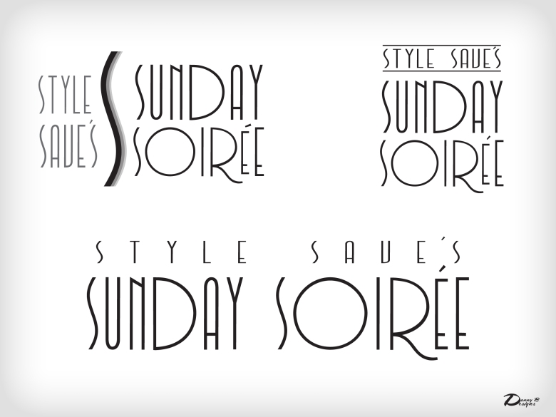 Style Save's - SUNDAY SOIREE- LOGOS