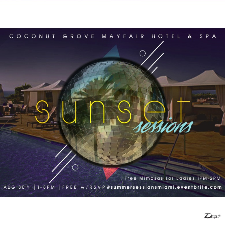 Sunset Sessions 1st Flyer